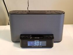 Sony Dream Machine 2 Alarm Clock AM/FM Radio iPod iPhone Dock Model ICF-CS10iP