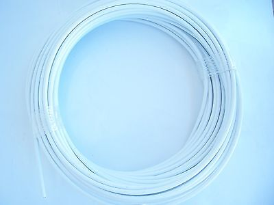 White Vinyl Coated Cable Wire Rope 18- 316 7x7 50 Ft Coil