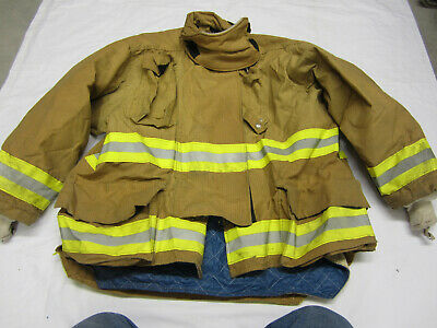 Size 50 2733 32 Morning Pride Fire Fighter Turnout Jacket 2008 Vgc  5