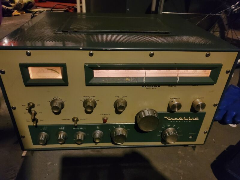 Heathkit RX-1 Mohawk Receiver. Used-Working Unit (See Additional Pictures)