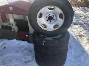 245-65-17 Winter Tires/Wheels