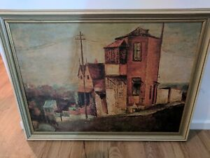 """Sali Herman """"House on The Hills"""" Oil on Canvas print Langwarrin Frankston Area Preview"""