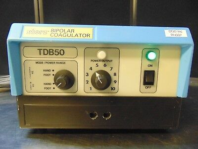 Storz Microsurgical Bipolar Coagulator Model Tdb50 Powers On Rh307gx
