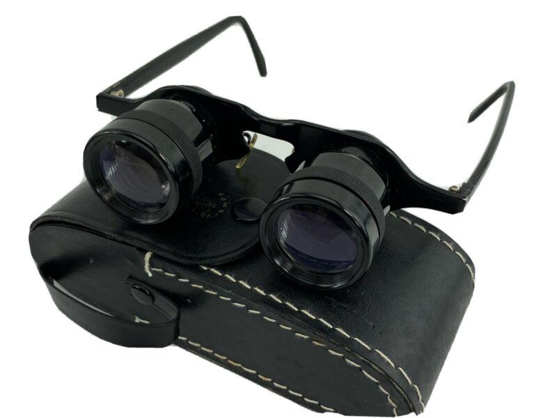Vintage Rare Sportiere No. 229 2.8 x 28 Sports Glass Opera Glasses Original Case