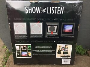 Record Display Case - Show and Listen