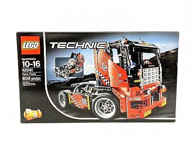 LEGO Technic 42041 Race Truck Set 608 Pieces NEW Unused Sealed