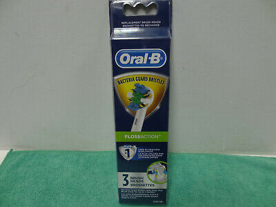 Oral-B Floss Action Electric Toothbrush Replacement Brush Heads - 3ct -