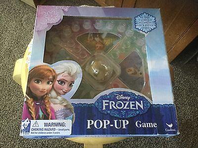 New In Sealed Box Disney Frozen Pop Up Board Game