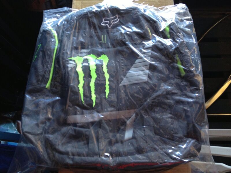Brand New & Rare Limited Edition Monster Energy Backpack And Beanie