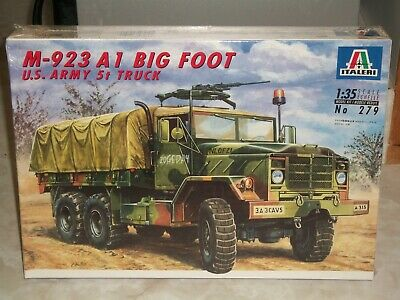 Italeri 1/35 Scale M-923 A1 Big Foot, U.S. Army 5t Truck - Factory Sealed for sale  Shipping to Canada