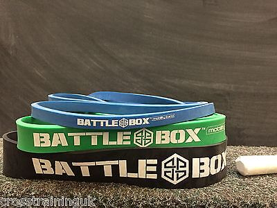 BATTLEBOX UK BANDS GYM HEAVY LOOPS POWERLIFTING ASSISTED PULL UPS CROSSFIT Assisted Pull Ups