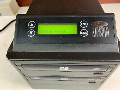 Zipspin CD and DVD Duplicator