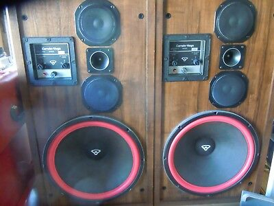 Cerwin Vega D9 Speakers 350 Watts Incredible Sound 4-8 Ohms