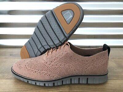Cole Haan Zerogrand Stitchlite Oxford Shoes Camel Dark Roast SZ ( C28891 -