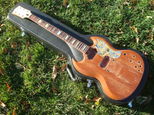 Vintage 1965 Gibson SG Standard HUSK - Project Body - Vintage Tone Woods!!