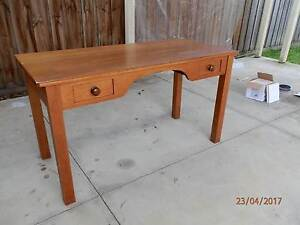 Antique Pine Table/Desk Newcomb Geelong City Preview