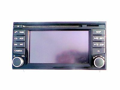 Nissan Qashqai Juke Satellitennavigation Display Navigationssystem Stereo Unit gebraucht kaufen  Versand nach Germany