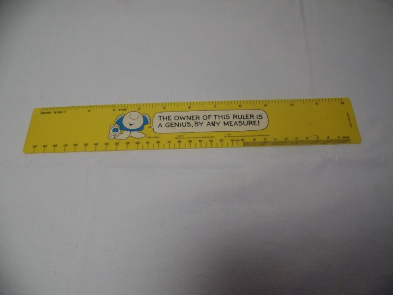 RARE Vintage ZIGGY  Ruler Universal Press Syndicate
