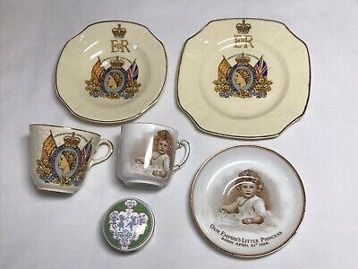 Queen Elizabeth  Coronation/Commemorative China   (UK POSTAGE ONLY)