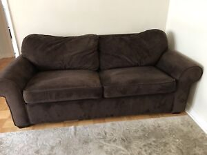 Brown Comfortable Sofa Bed From Leon S