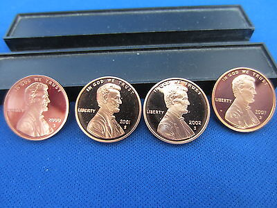 2000 2001 2002 2003 2004 2005 2006 2007 2008 LINCOLN CENT D/CAMEO MIRROR PROOF 9