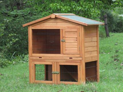 2 Story Rabbit hutch, Guinea Pig Hutch, Chicken Coop With pitched Edwardstown Marion Area Preview