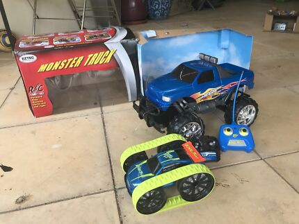 RC cars- Monster Truck + Edgetrax car