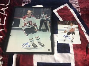 Montreal Canadiens Guy Lafleur signed and framed 16x20 photo
