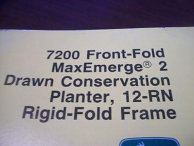 John Deere Operators Manual 7200 Frontfold Maxemerge 2 Drawn Cons Planter 12rn