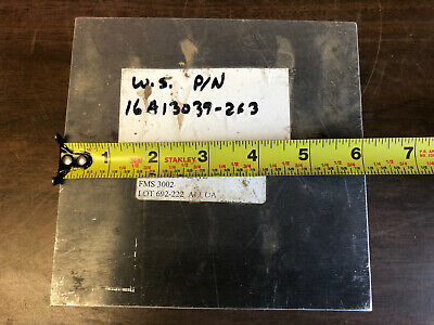 2.5x6x6 Solid Aluminum Stock Plate Flat Bar Cnc Milling Shop Tool