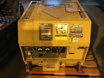 2003 Fermont Mep-831a 3kw Diesel Generator Only 299hours Tactical Quiet Military