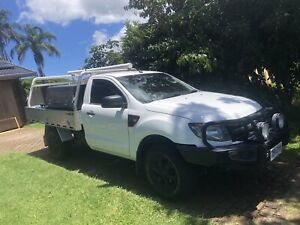 2013 Ford Ranger Xl 2.2 (4x4) 6 Sp Manual C/chas