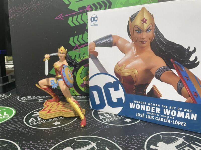 "Wonder Woman Art of War 6"" Statue Jose Luis Garcia-Lopez Design DC Collectibles"