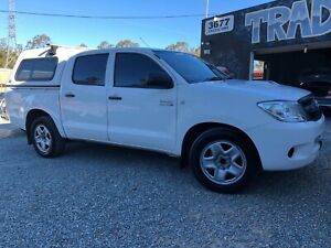 *** 2008 TOYOTA HILUX *** TURBO DIESEL DUAL CAB *** FINANCE AVAIL *** Daisy Hill Logan Area Preview