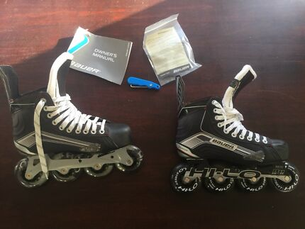 Roller hockey skates as new sz 6R