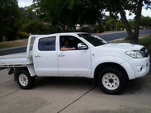2010 Toyota Hilux Ute SR5 Turbo Diesel Dual Cab - 5Speed Manual Denistone Ryde Area Preview