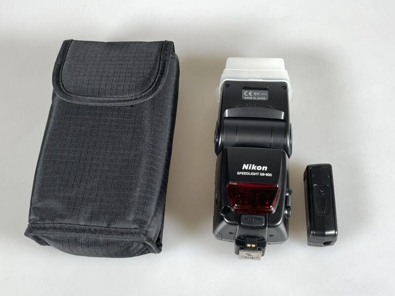MINT Nikon Speedlight SB-800 Shoe Mount Flash For Nikon