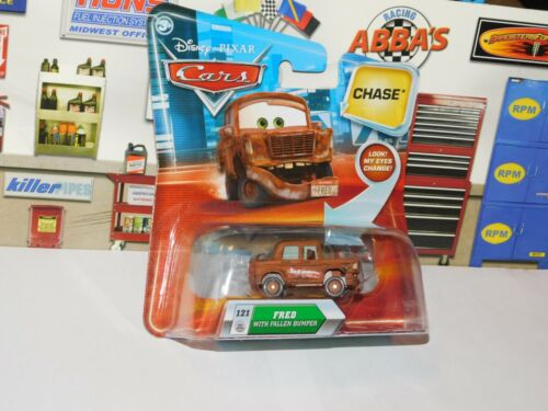 2009 Disney Pixar Cars #121 Fred With Fallen Bumper Articulating Eyes CHASE VHTF