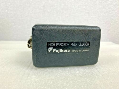 Fujikura CT-04B High Precision Fiber Optic Cleaver w/ HARD PLASTIC COVER GREAT !