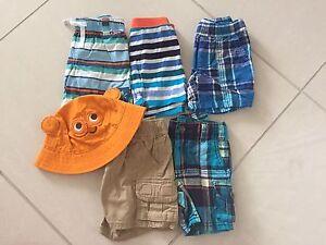EUC 9-12 month boy shorts