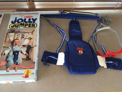 Jolly jumper with musical mat $40