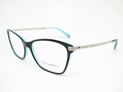 19b0f40ef9e5 New Authentic Tiffany   Co TF 2158-B 8055 Black   Blue Eyeglasses 54mm Rx