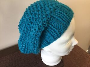 BN Slouchy Hat - Turquoise