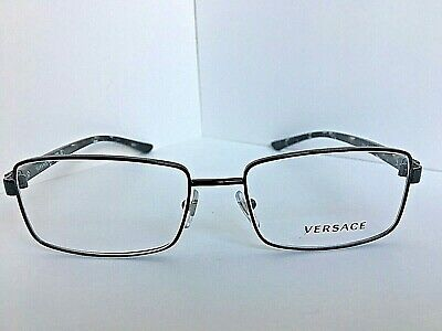 New Versace Mod. 2121 1009 55mm Black Men's Eyeglasses Italy #7