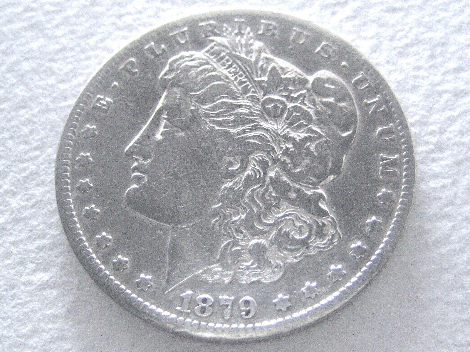 1879-CC Morgan Dollar, Rare-Date Carson City 11/26-R  - $255.50