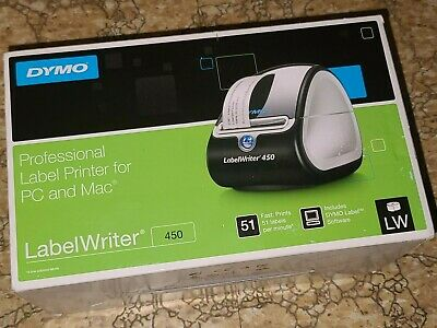 Dymo Professional Label Writer 450 Label Maker For Pc Or Mac