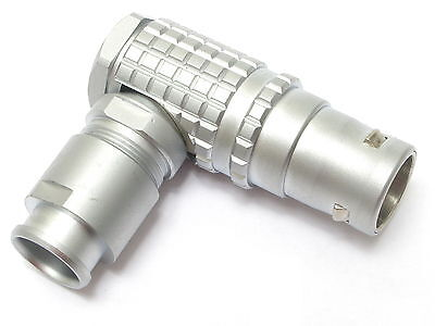 Lemo Fhg.3b.316.clad12z 16-pin Male Right-angle Connector