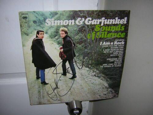 Simon & Garfunkel signed lp **Sounds of Silence **Paul Simon 2 members