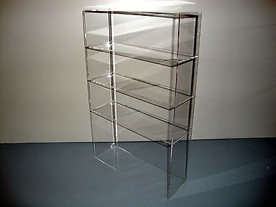 305displays Acrylic Lucite Countertop 12 X 4 X 19 Display Showcase Box Cabinet