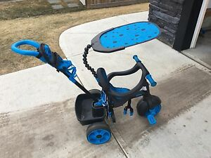 Little Tikes 4-in-1 Basic Edition Trike, Blue